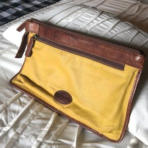 Fossil Zippered Pouch
